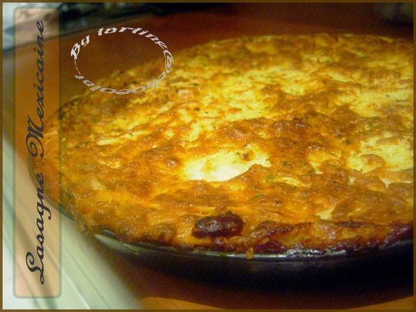 Lasagne Mexicaine