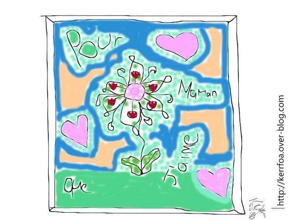 Pour maman que j'aime!