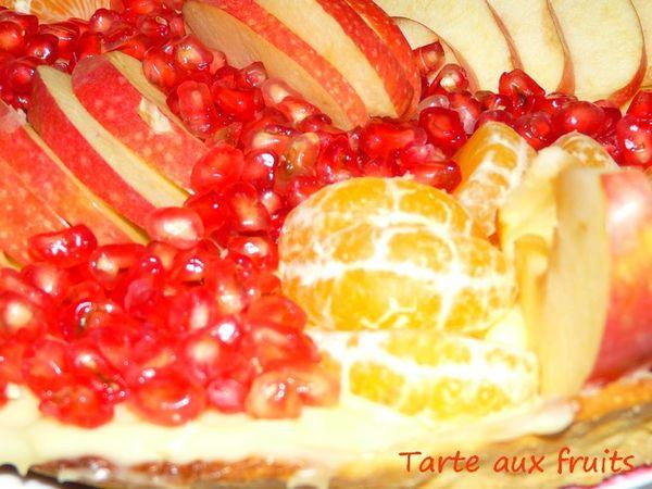 Tarte fruits 4