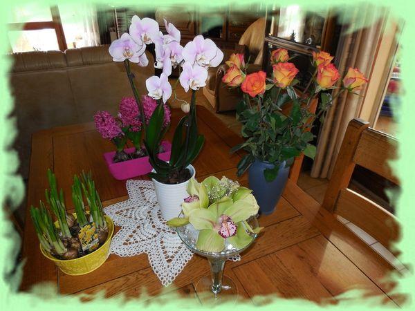 fleurs de fête