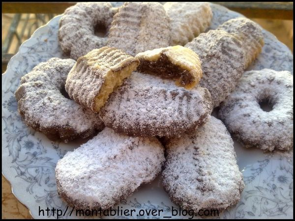 biscuits multicolore :