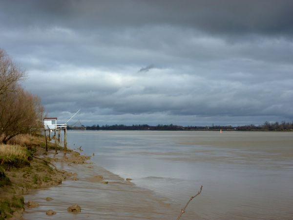 Les bords de la Garonne