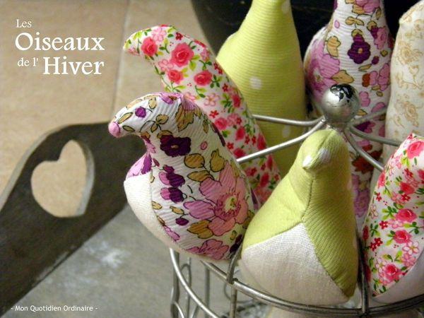 Les oiseaux de l'Hiver