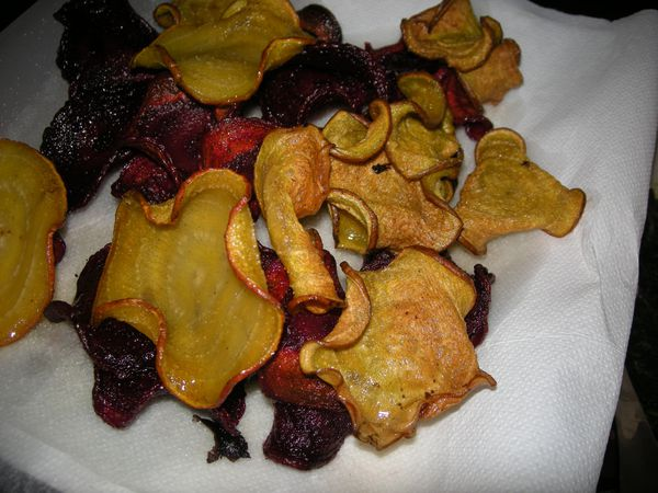 CHips de betteraves crues (10)