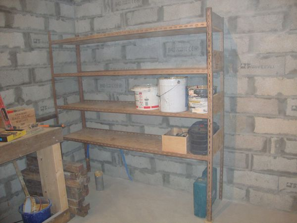 Garage le blog de maderastyle - Construire des etageres ...
