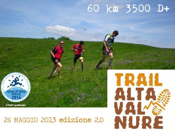 Trail Alta val di Nure (2^ ed.). Il trail Alta Val di Nure alza il tiro, con un percorso più lungo e più emozionante: il prossimo 26 maggio