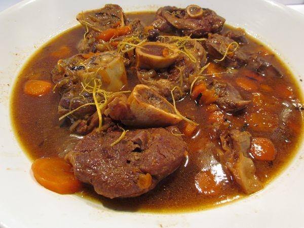 Jarrets de veau aux pamplemousses pic tout la cuisine - Cuisiner jarret de veau ...