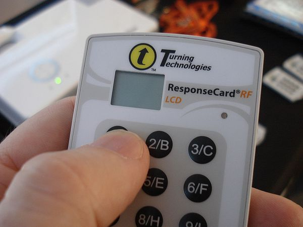 Turning Technologies ResponseCard RF LCD