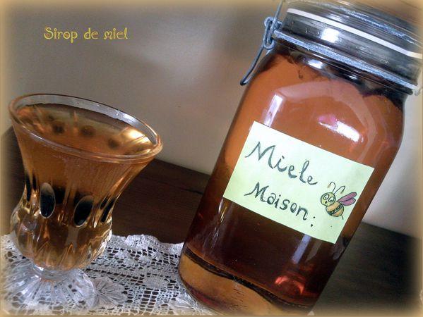sirop de miel