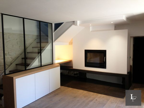 Long re bretonne r agencement int rieur carnac franck labbay architecte dplg for Interieur d une maison