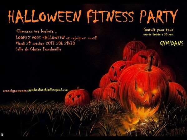 13 halloween fitness party