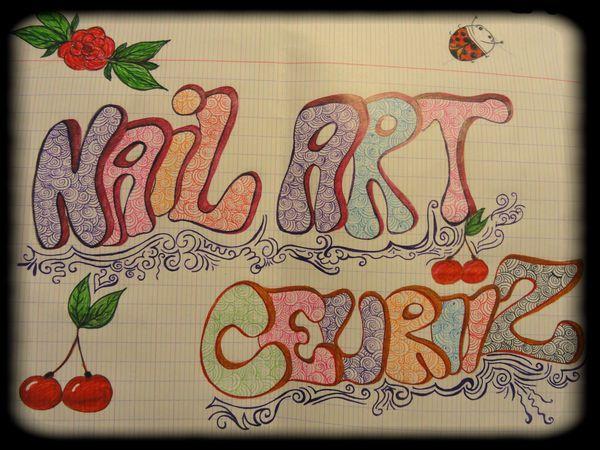 nail art ceuriiz dessin