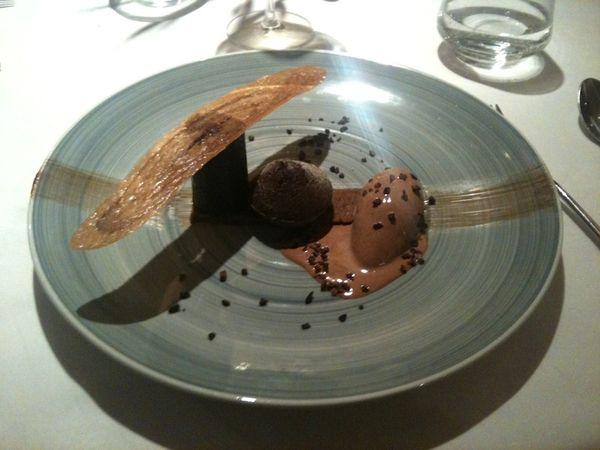 dessert chocolat auberge saint jean