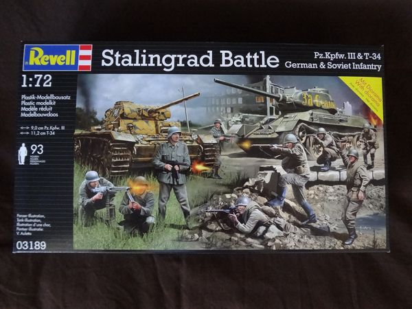 Revell 03189 - Stalingrad battle - 01