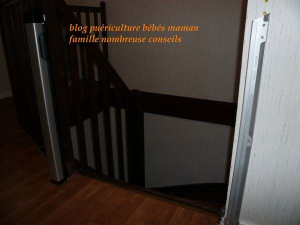 Barriere enroulable for Barriere securite escalier helicoidal