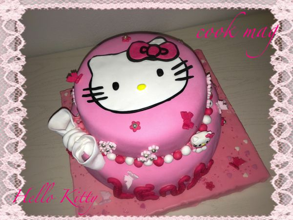 Recette de gateau au chocolat hello kitty