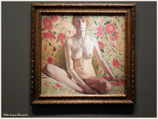 La femme blonde Albert Marquet Musee Luxembourg