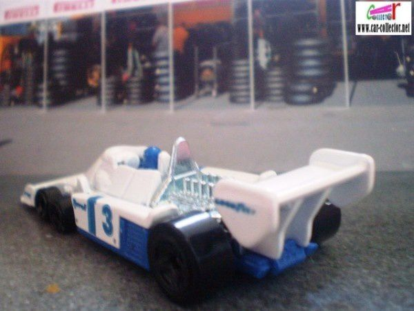 f1 tyrrell p34 6 roues hot wheels 1 64 car. Black Bedroom Furniture Sets. Home Design Ideas