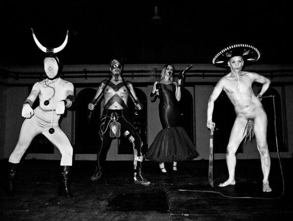 La Pocha Nostra 2012 Corpo insurrecto (rehearsals) Mexico 7