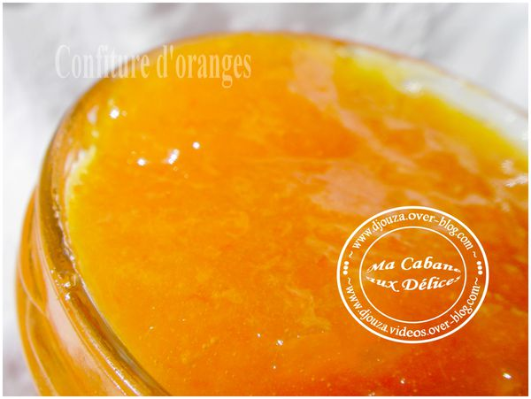 Confiture d'oranges 009