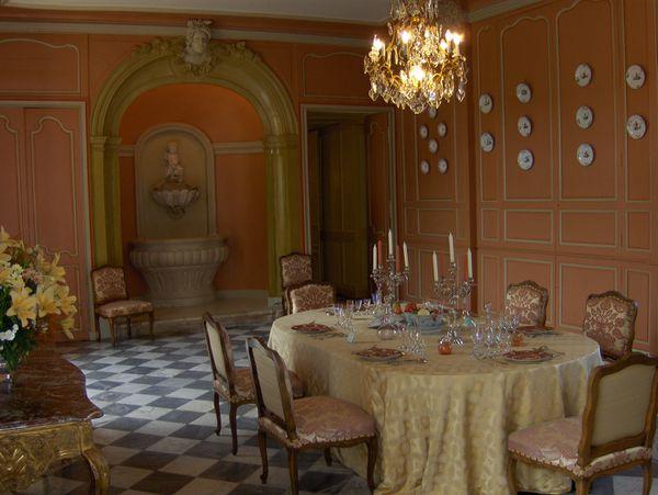 1505a La salle à manger, Château de Villandry