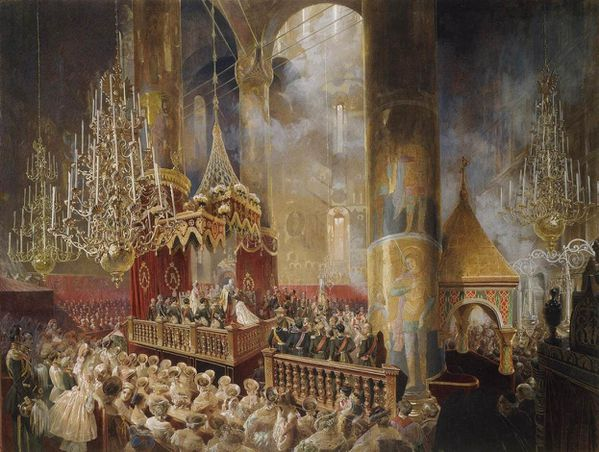 Coronation of Alexander II