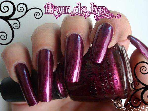 Vernis China Glaze Rodéo Diva Collection ( Cowgirl Up )