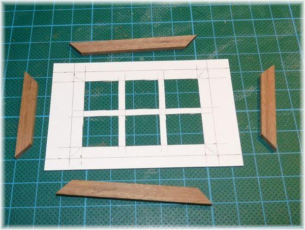 Fabrication d 39 une fen tre en bois woodenlog for Fabrication fenetre bois