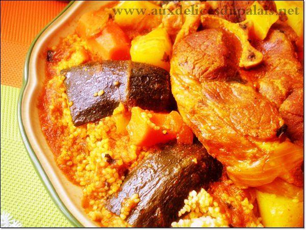 Recette du couscous tunisien - Recette cuisine couscous tunisien ...