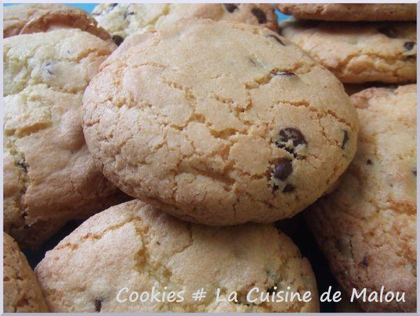 cookies pépites chocolat recette américaine