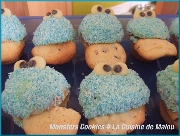 monsters cookies-cupcakes-enfants