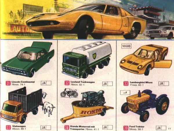 catalogue matchbox 1969 deutches katalog p11