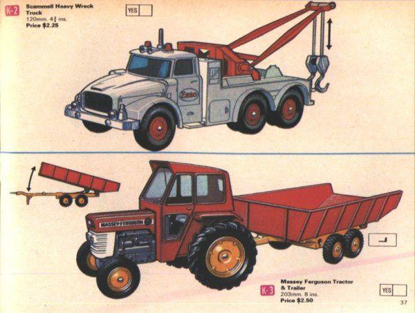 catalogue matchbox 1970 p37 scammell heavy wreck