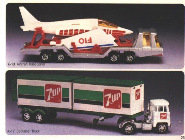catalogue matchbox 1983 p25 container truck 7up