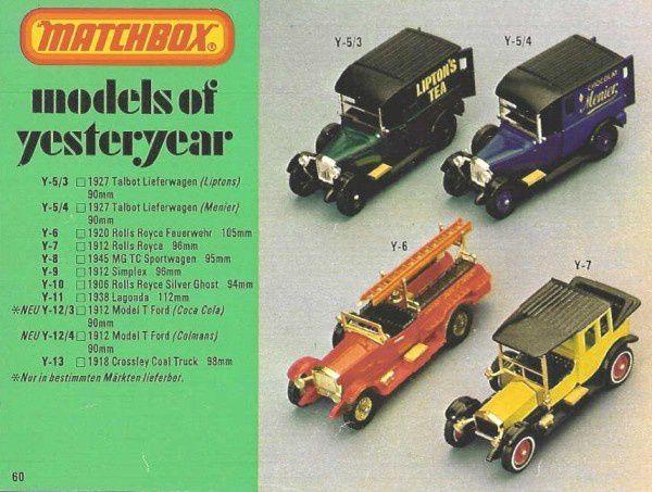 p60 katalog matchbox 1979.80 vieux tacots matchbox