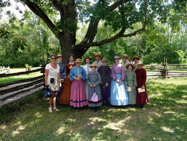 Upper Canada Village photo de classe
