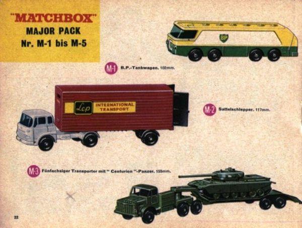 catalogue matchbox 1967 p22