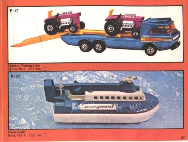 catalogue matchbox 1975 p27