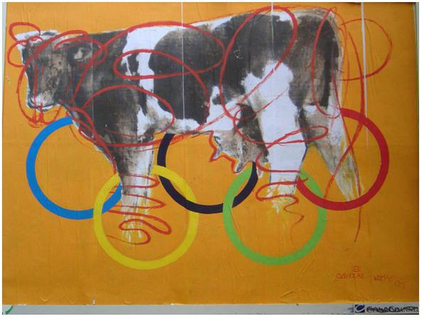 Vache olympique