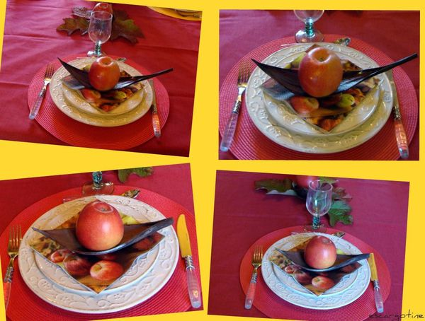 collage pommes 3