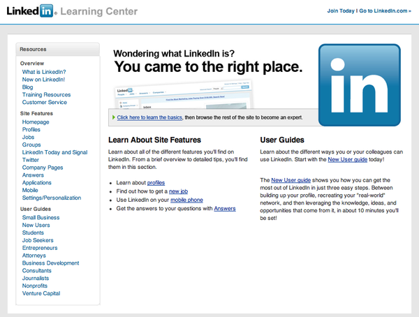 LinkedIn Learning Center