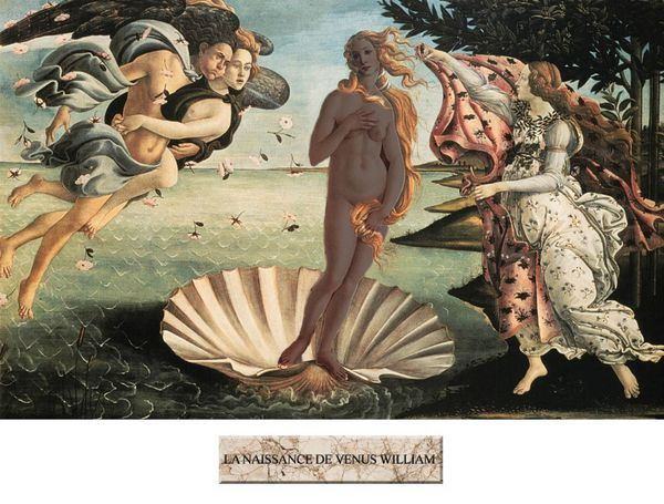 La naissance de Venus William