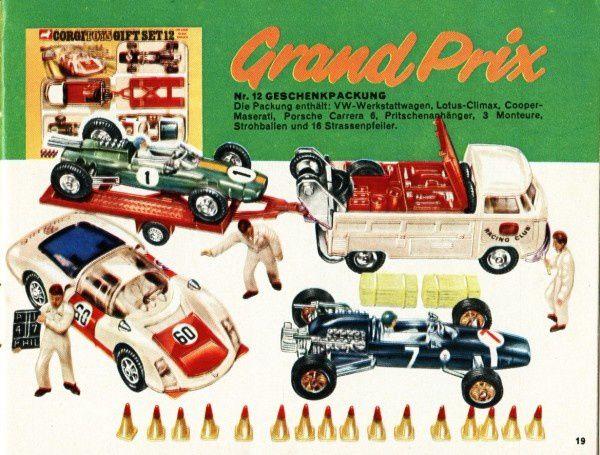 catalogue corgi 1969 p19 f1 grand prix