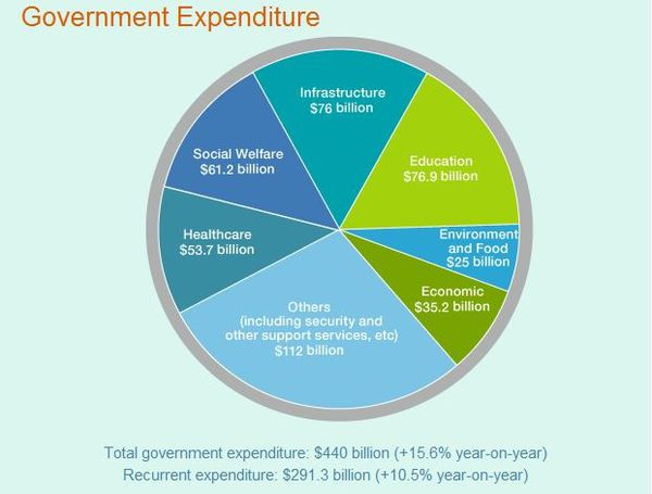 Government expenditure 2013-2014