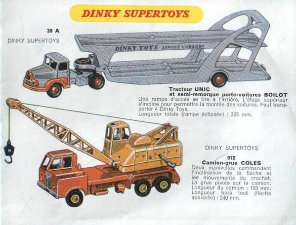 catalogue dinky toys automne 1958 p14