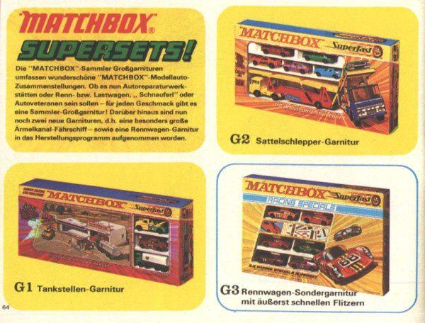 catalogue matchbox 1972-1973 p64