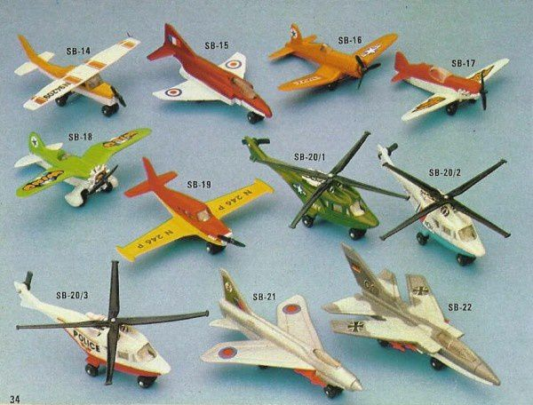 p34 katalog matchbox 1979.80 f16 army helicopter
