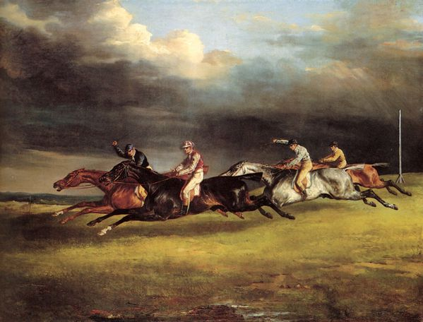 gericault Derby of Epsom