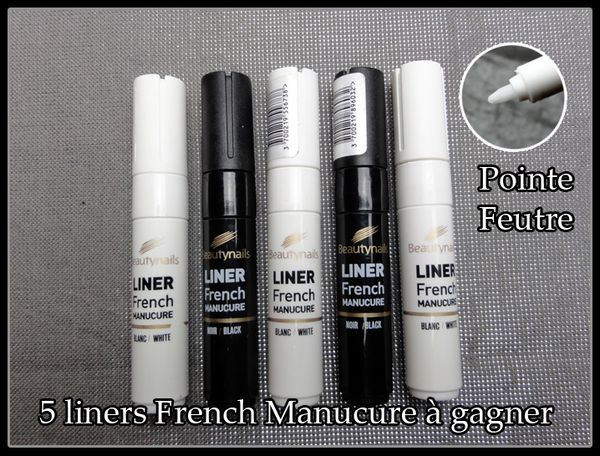 5 Liners french manucure à gagner !