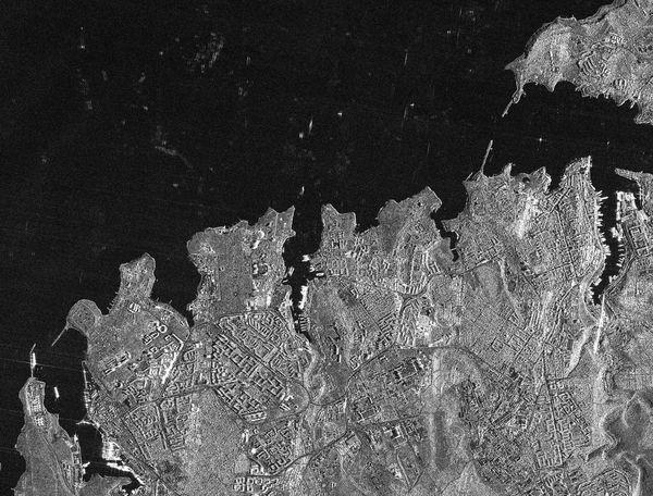 TerraSAR-X - Crimée - Sébastopol - 03-03-2014 - Stripmap